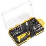Siegen S0978 Socket & Bit Set 46pc Ratchet Screwdriver