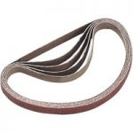 Sealey SM750B80G Sanding Belt 80Grit 25 x 762mm Pack of 5