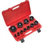 Sealey CV025 Ball Joint Socket Set 11pc 1/2″Sq Drive