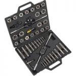 Sealey AK303IMP Tap & Die Set 45pc Split Dies Imperial