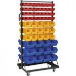 Sealey TPS118 Mobile Bin Storage System 118 Bin