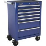 Sealey AP26479TC Rollcab 7 Drawer with Ball Bearing Runners – Blue