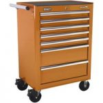 Sealey AP26479TO Rollcab 7 Drawer with Ball Bearing Runners – Orange