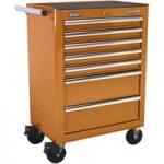 Sealey AP26479TO Rollcab 7 Drawer with Ball Bearing Runners – Orange