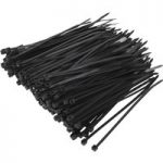 Sealey CT10025P200 Cable Ties 100 x 2.5mm Black Pack Of 200