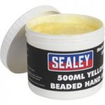 Sealey SSW05 Yellow Beaded Hand Gel 500ml