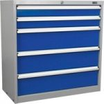 Sealey API9005 Industrial Cabinet 5 Drawer