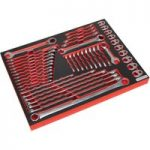 Sealey TBTP11 Tool Tray with Specialised Spanner Set 44pc