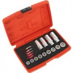 Sealey AK751 Bolt, Stud & Screw Extractor Set 18pc