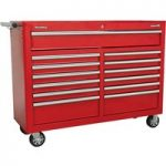 Sealey AP5213T Rollcab 13 Drawer with Ball Bearing Runners – Red