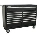 Sealey AP5213TB Rollcab 13 Drawer with Ball Bearing Runners – Black