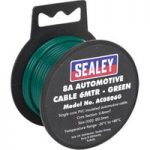 Sealey AC0806G Automotive Cable 8A 6mtr Green