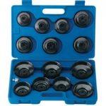 Draper Expert 40105 15 Pce Oil Filter Cup Socket Set