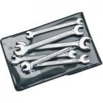 Elora 5202 6 Piece Midget Metric Double Open End Spanner Set