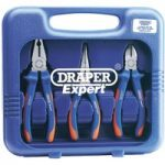 Draper Expert 69289 3 Piece Heavy Duty Soft Grip Pliers Set