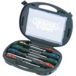 Draper Expert 40002 8 Piece Screwdriver Set In Case