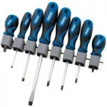 Draper 48933 8 Piece Soft Grip Screwdriver Set