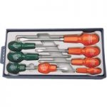 Draper 14077 8 Piece Cabinet Pattern Screwdriver Set