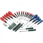 Draper 47646 67 Piece Screwdriver, Socket and Bit Set