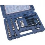 Draper 32580 60 Piece Socket and Screwdriver Bit Set