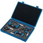 Draper Expert 46607 4 Piece Metric External Micrometer Set