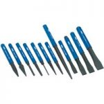 Draper 26557 12 Piece Cold Chisel and Punch Set