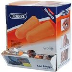 Draper 82450 Countertop Dispenser of 200 Pairs of Ear Plugs