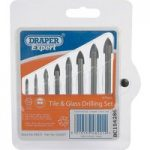 Draper Expert 48221 8 Piece Tile and Glass Drilling Set
