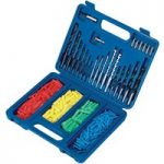 Draper 37054 301 Piece Drill Bit and Wall Plug Set