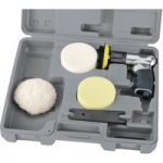 Draper Expert 47616 75mm Compact Soft Grip Air Polisher Kit