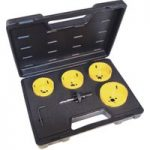 CK Tools 424046 Hole Saw Kit For Downlighters 6 Piece