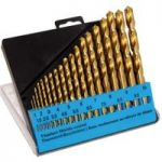 CK Tools T3291 Titanium Nitride Coated Drills Size 1-10mm Set Of 19