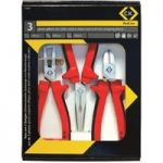 CK Tools T3804 RedLine Pliers Set Of 3