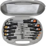 Avit AV05013 Soft Grip Screwdriver Set & Bits – 20 piece set