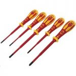 CK Tools T49283 Dextro VDE Slim Screwdriver Set – 5 pcs